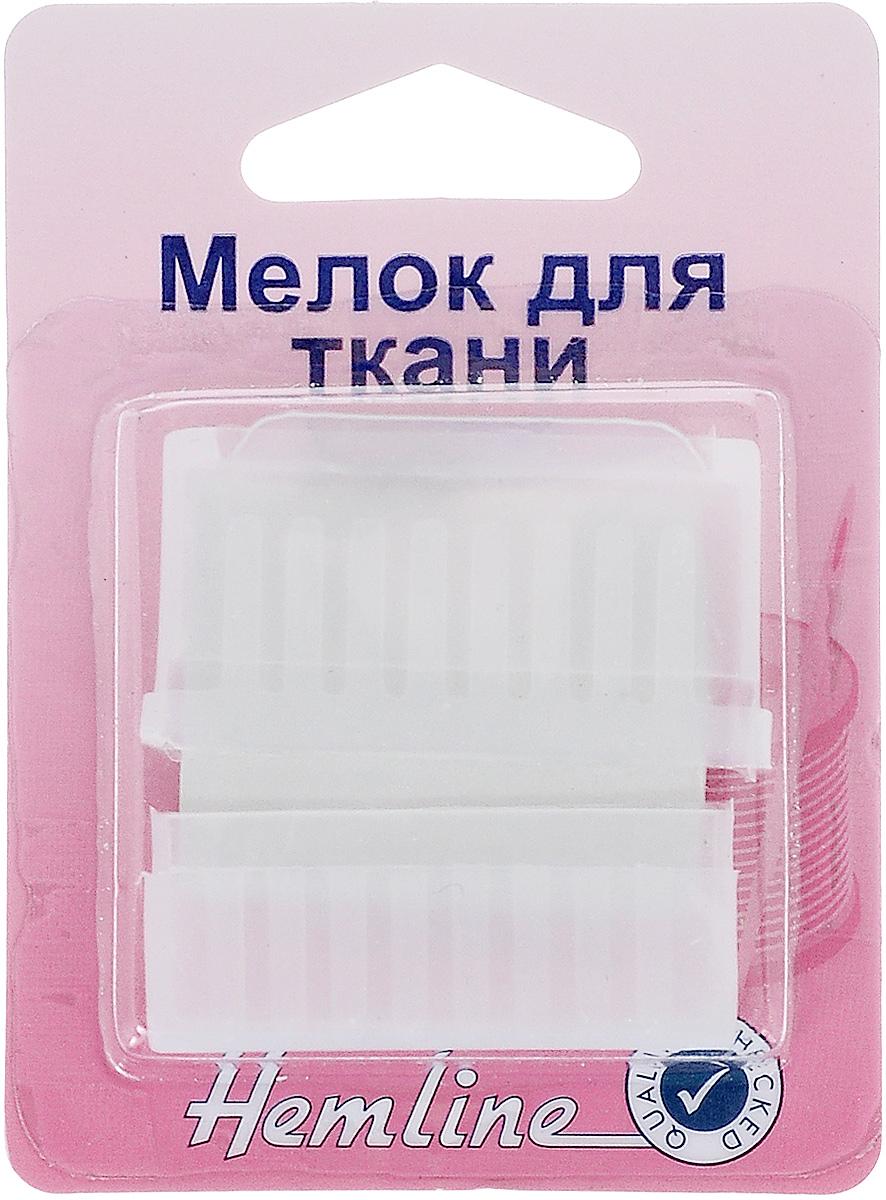 Мелок для ткани Hemline, c точилкой246Мелок для ткани Hemline предназначен для нанесения линий на ткань при раскрое, для маркировки и перевода выкроек на ткань. Используется на темных тканях. Легко стирается щеточкой или водой. Пластиковый корпус, в котором располагается мел, защищает руки от загрязнения. На крышке есть точилка, что позволит всегда получать тонкую аккуратную линию.
