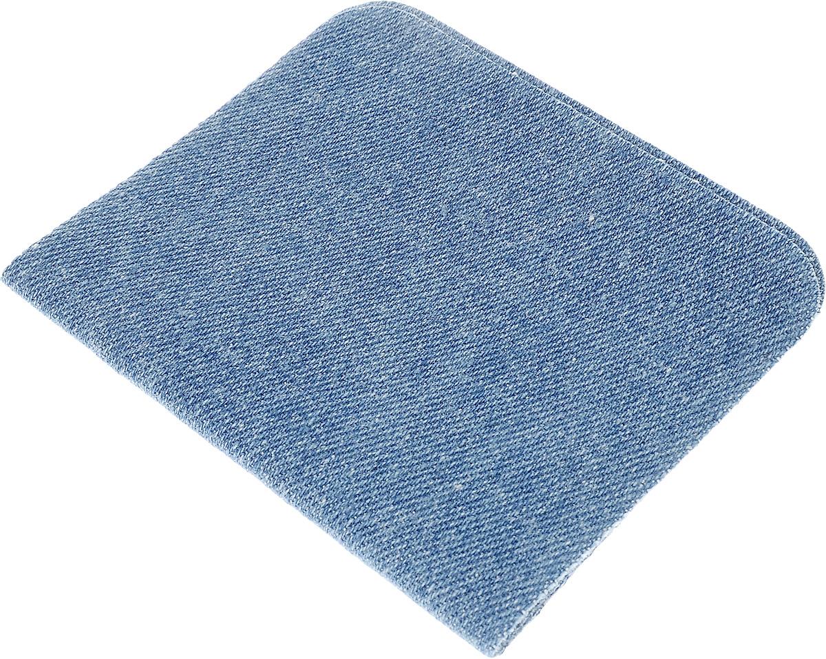 Термозаплатка Hemline, цвет: светло-голубой деним, 10 х 15 см, 2 шт690.LDТермозаплатки Hemline применяются для отделки и ремонта предметов одежды, домашнего текстиля и аксессуаров. Не предназначены для пластика, нейлона, вискозы. Термозаплатки изготовлены из поликоттона (хлопок/полиэстер). Прикрепляются с помощью утюга.
