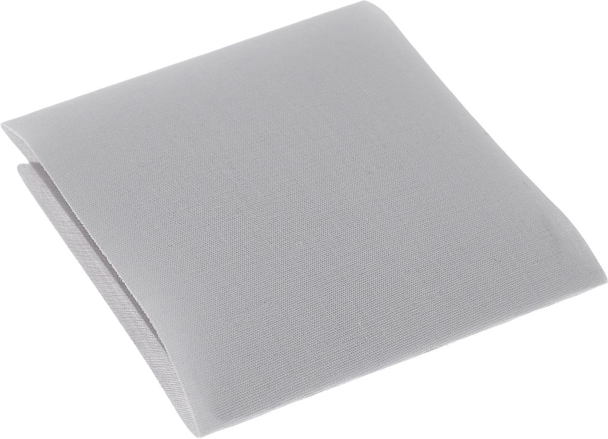 Термозаплатка Hemline, цвет: светло-серый, 24 х 9 см691.LGТермозаплатка Hemline, изготовленная из поликоттона (хлопок, полиэстер), применяется для отделки и ремонта предметов одежды, домашнего текстиля и аксессуаров. Не предназначена для пластика, нейлона и вискозы. Прикрепляется с помощью утюга.