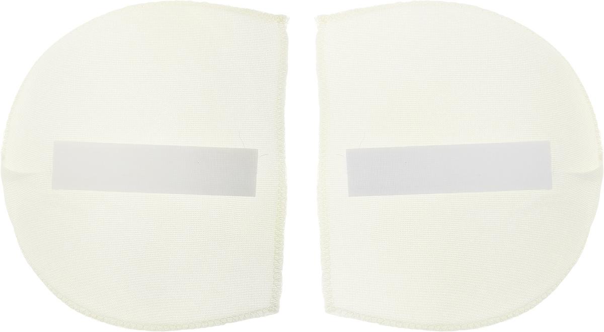Плечевые накладки Hemline, для рубашек и блуз, с липучками, 2 шт. Размер M/L916.MLПлечевые накладки Hemline изготовлены из поролона, обтянутого хлопковой тканью. Такие плечики имеют скругленные края и подходят для узкой линии плеча. Предназначены для одежды с рукавом покроя полуреглан, для рубашек и блуз из шелковых и легких тканей. Плечики снабжены липучками, поэтому их можно не пришивать. Толщина плечика: 13 мм. Размер плечика: 15 х 13 см.