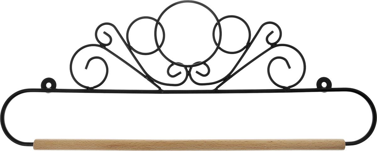 Держатель для панно Hemline, длина 35 смERQH30.14BLKФигурный держатель для панно Hemline предназначен для работ в технике квилтинг, а также вышивки. Чтобы открыть держатель, вытяните конец проволоки из деревянного дюбеля, закрепите панно, вставьте конец проволоки обратно в деревянный дюбель. Закрепите изделие на стене с помощью винтов (в комплект не входят), через монтажные отверстия. Ширина панно (максимальная): 35 см.