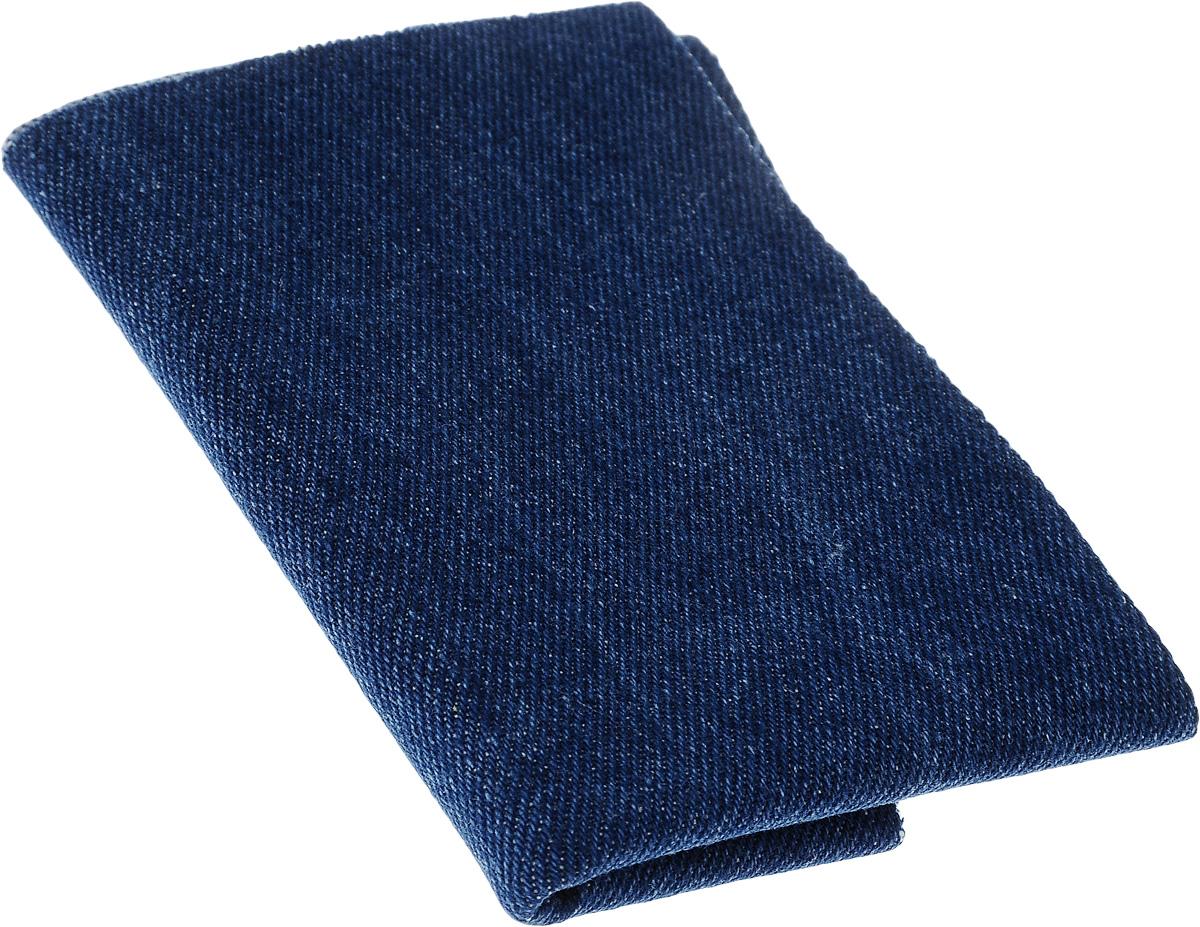 Термозаплатка Hemline, цвет: синий деним, 12 х 44 см690.L.MDТермозаплатка Hemline, изготовленная из поликоттона (хлопок, полиэстер) под джинсу, применяется для отделки и ремонта предметов одежды, домашнего текстиля и аксессуаров. Не предназначена для пластика, нейлона и вискозы. Прикрепляется с помощью утюга.