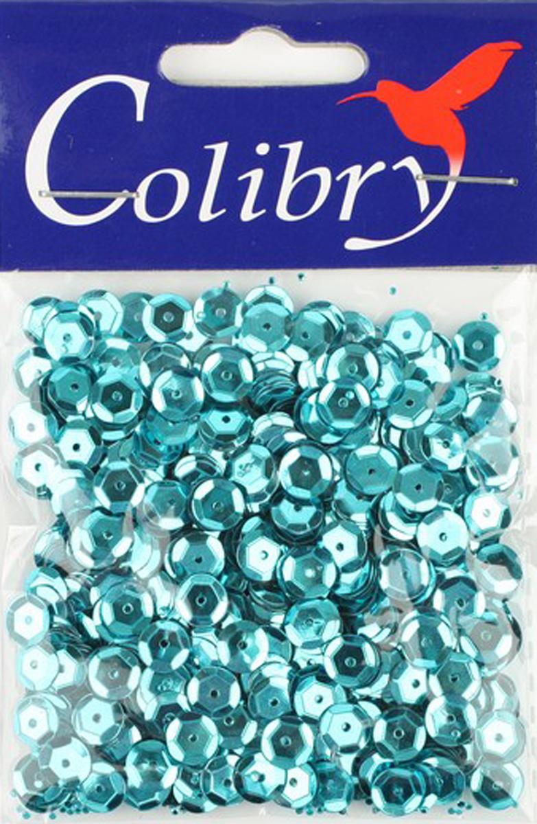 Пайетки граненые голографическуие Colibry, 6мм. S01-09-C6S01-09-C6