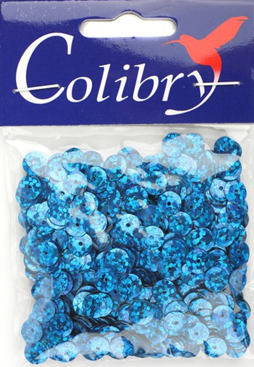 Пайетки граненые голографические Colibry, 6мм. S02-50-C6S02-50-C6