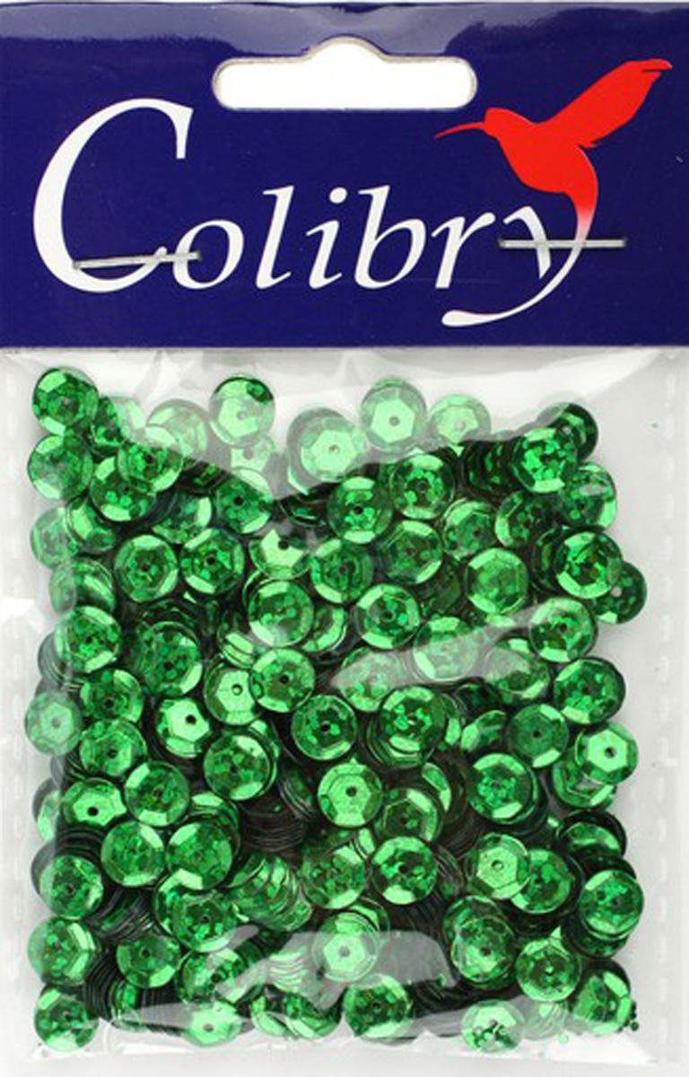 Пайетки граненые голографические Colibry, 6мм. S02-53-C6S02-53-C6