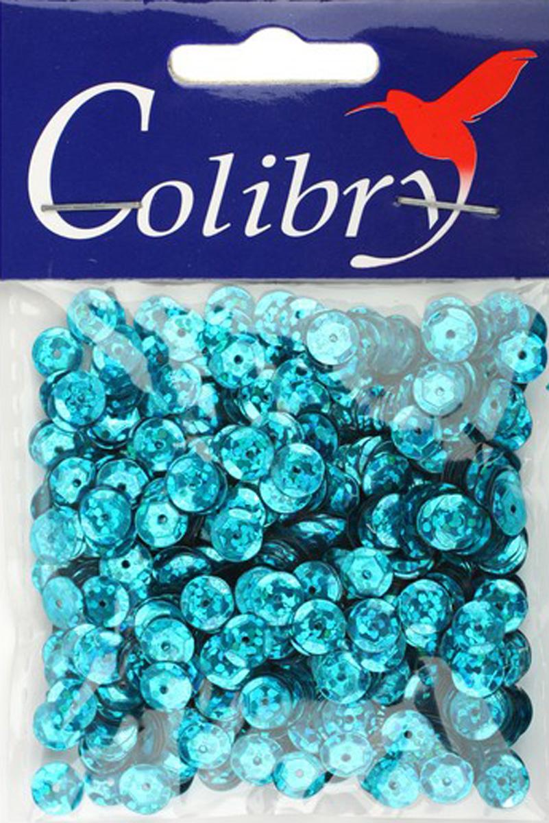 Пайетки граненые голографические Colibry, 6мм. S02-62-C6S02-62-C6
