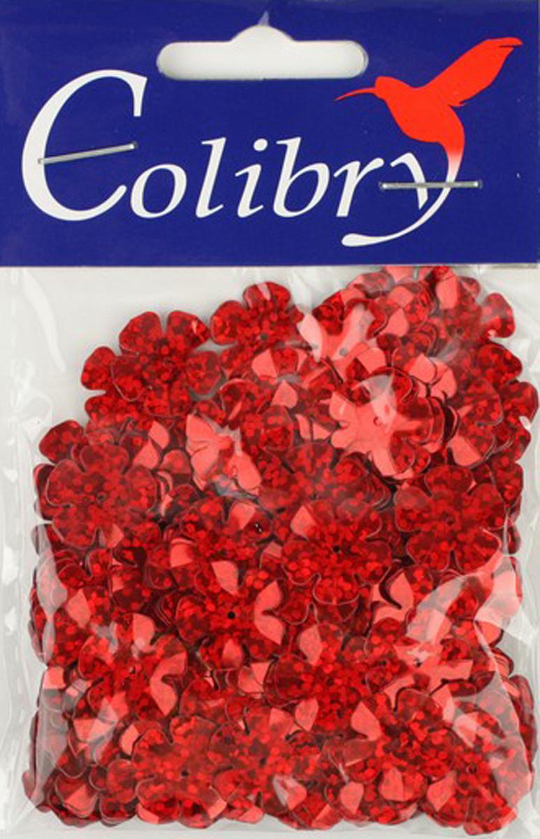 Пайетки фигурные голографические Colibry, 14х14мм. SF02-58-FL14SF02-58-FL14
