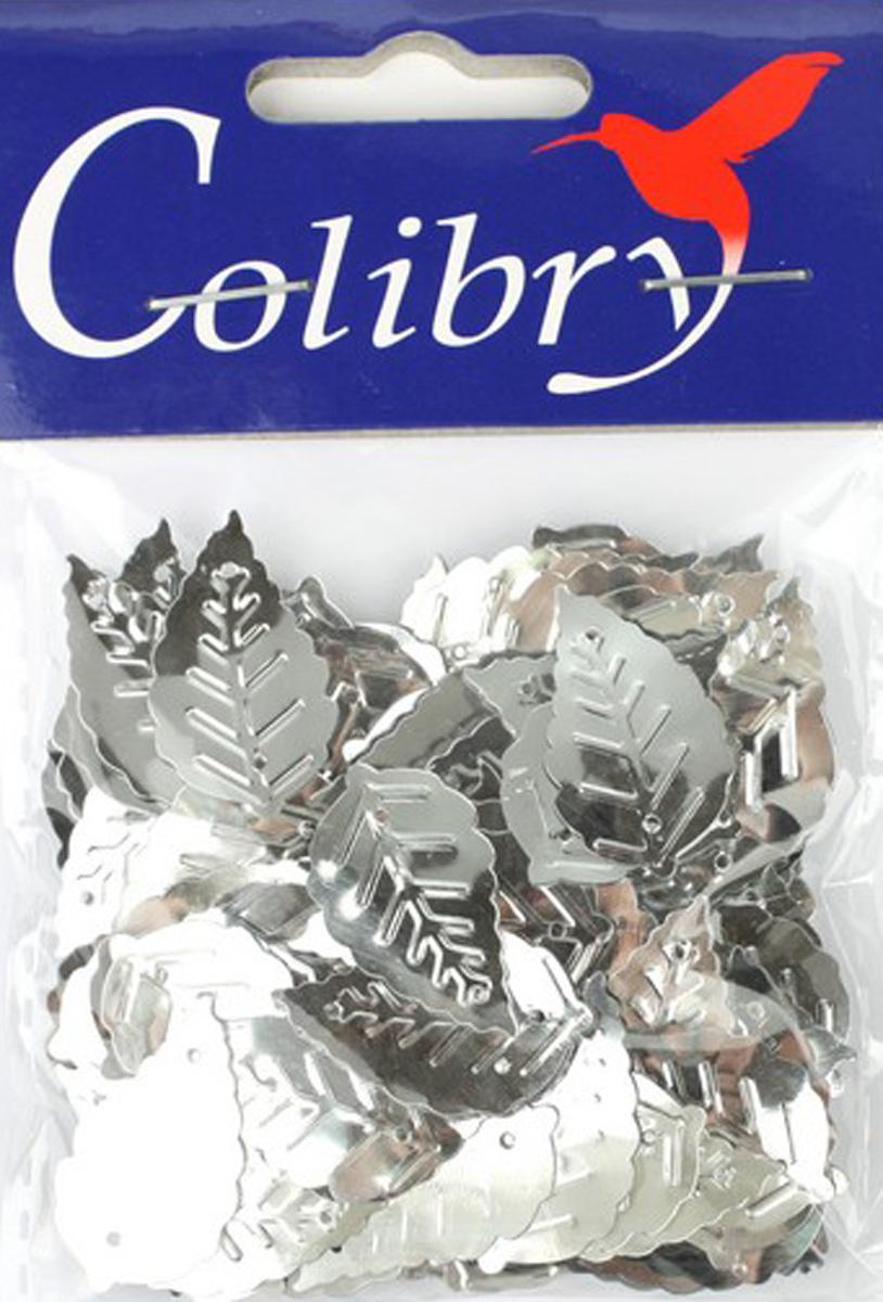 Пайетки фигурные граненые Colibry, 14х25мм. SF01-01-L14SF01-01-L14
