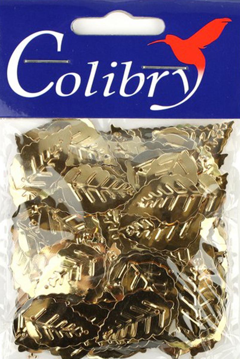 Пайетки фигурные граненые Colibry, 14х25мм. SF01-05-L14SF01-05-L14