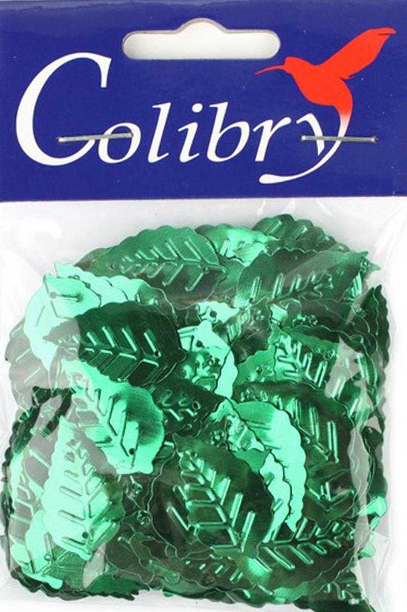 Пайетки фигурные граненые Colibry, 14х25мм. SF01-03-L14SF01-03-L14