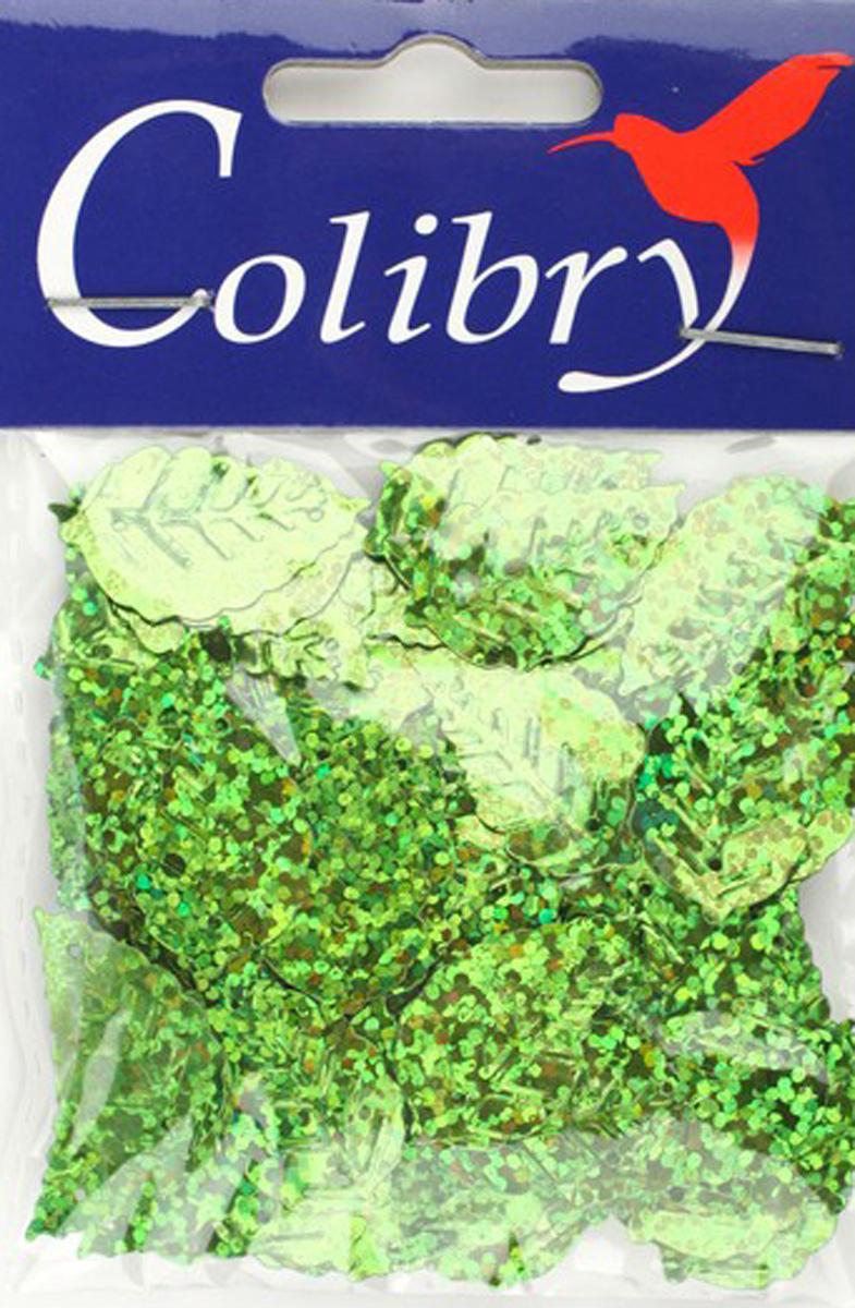 Пайетки фигурные голографические Colibry, 14х25мм. SF02-65-L14SF02-65-L14