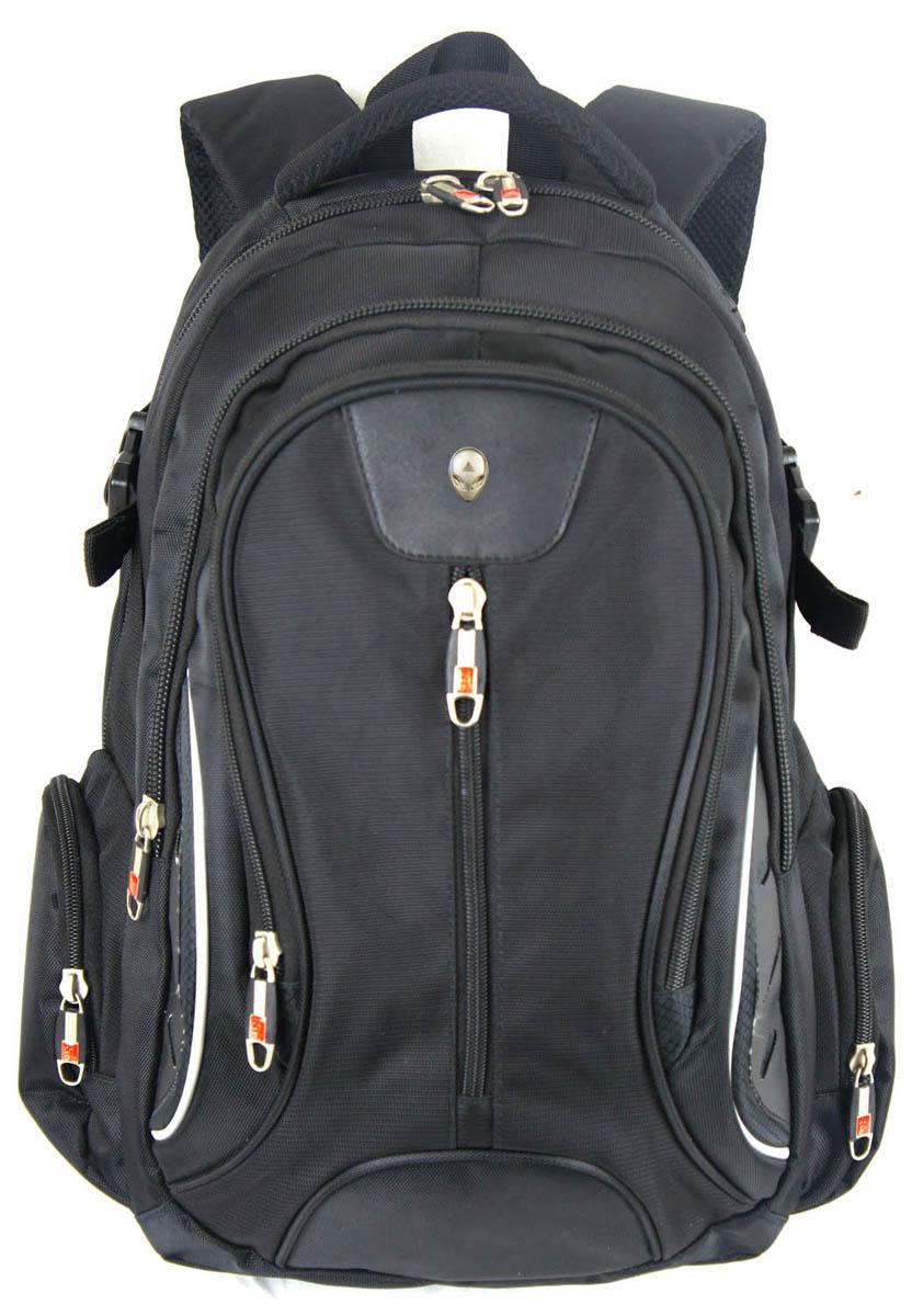 Рюкзак городской UFO people, цвет: черный, 21 л. 67906790Плотная стеганная спинка с анатомическими вставками Надежный материал Три отделения Карман-органайзер с отделением на молнии. Уплотненное дно. Лямки- МАЙКА