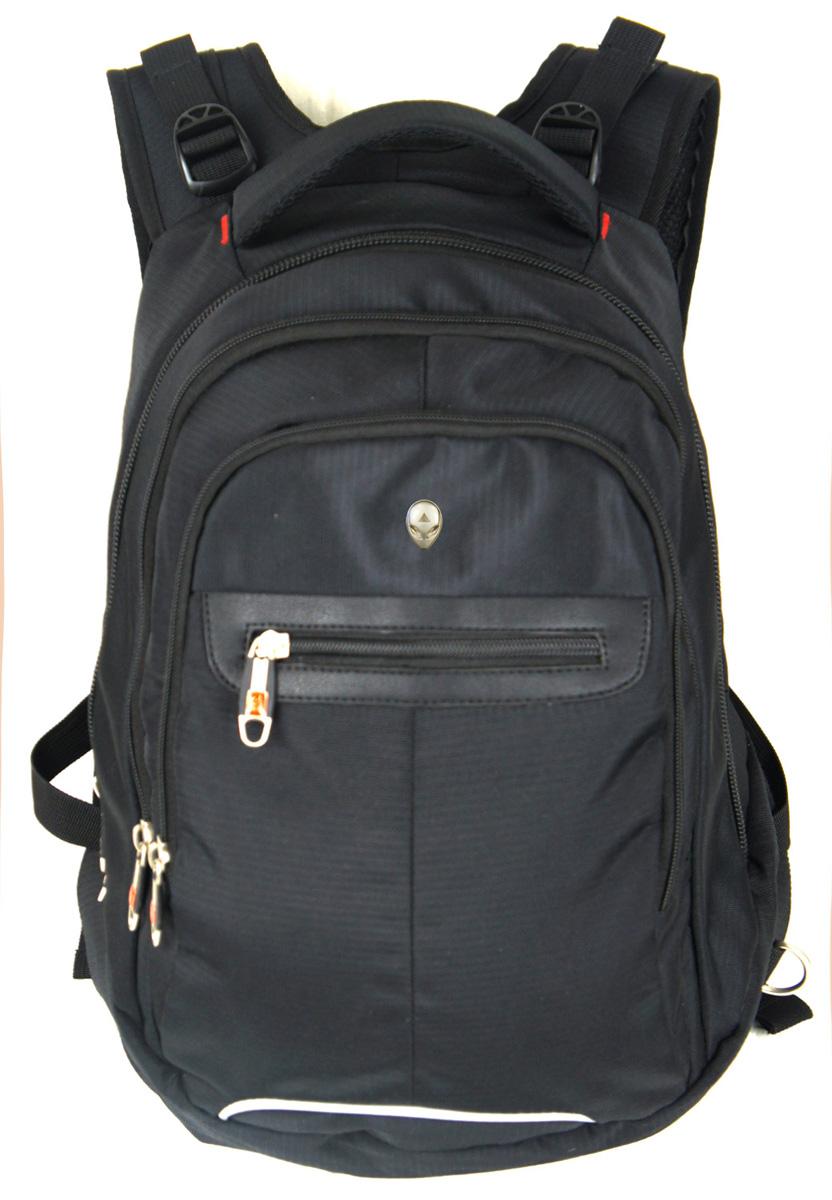 Рюкзак городской UFO people, цвет: черный, 21 л. 67936793Плотная стеганная спинка с анатомическими вставками Надежный материал Три отделения Карман-органайзер с отделением на молнии. Уплотненное дно. Лямки- МАЙКА