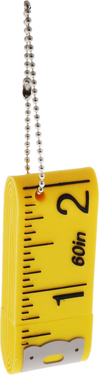 Hemline Устройство USB Сантиметр, желтый, 2 GB, 1 шт. E102.01E102.01Для записи и хранения схем для вышивальных машин или как обычное устройство для хранения внешней информации. Размер: 52 х 10 х 20 мм