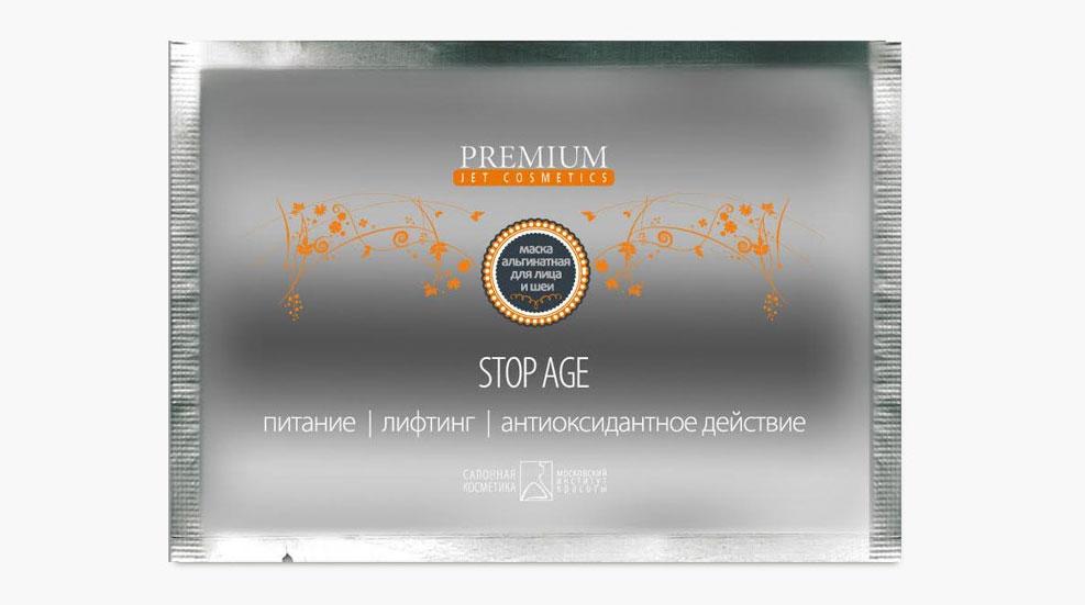 PREMIUM Jet cosmetics Маска альгинатная STOP AGE 30млГП060038Предназначается для интенсивной Anti-age терапии. Для решения проблемы увядания кожи в состав введены компоненты, способные глубоко проникать в эпидермис для активизации метаболизма кожи и достижения эффекта гладкой ровной поверхности кожи лица. Состав: диатомовая земля, тальк, кукурузный крахмал, натрия аскорбилфосфат, молочная кислота, натрия бензоат, отдушка. Что делает препарат? Активизирует метаболизм кожи Способствует регенерации тканей, и, как следствие, устранению морщин и повышению эластичности кожи Увлажняет Осветляет кожу Показания к применению Кожа лица и шеи с признаками увядания различной степени выраженности (потеря тургора, эластичности, морщины, снижение гидратации). Что содержится в биоактивном составе? Диатомовые водоросли Витамин С Молочная кислота Кукурузный крахмал Как применять? Пудру развести водой до консистенции сметаны, нанести средним слоем на предварительно подготовленную кожу лица, обходя зоны век и губ, и оставить на 15-20 минут. Эластичная «резиновая»...