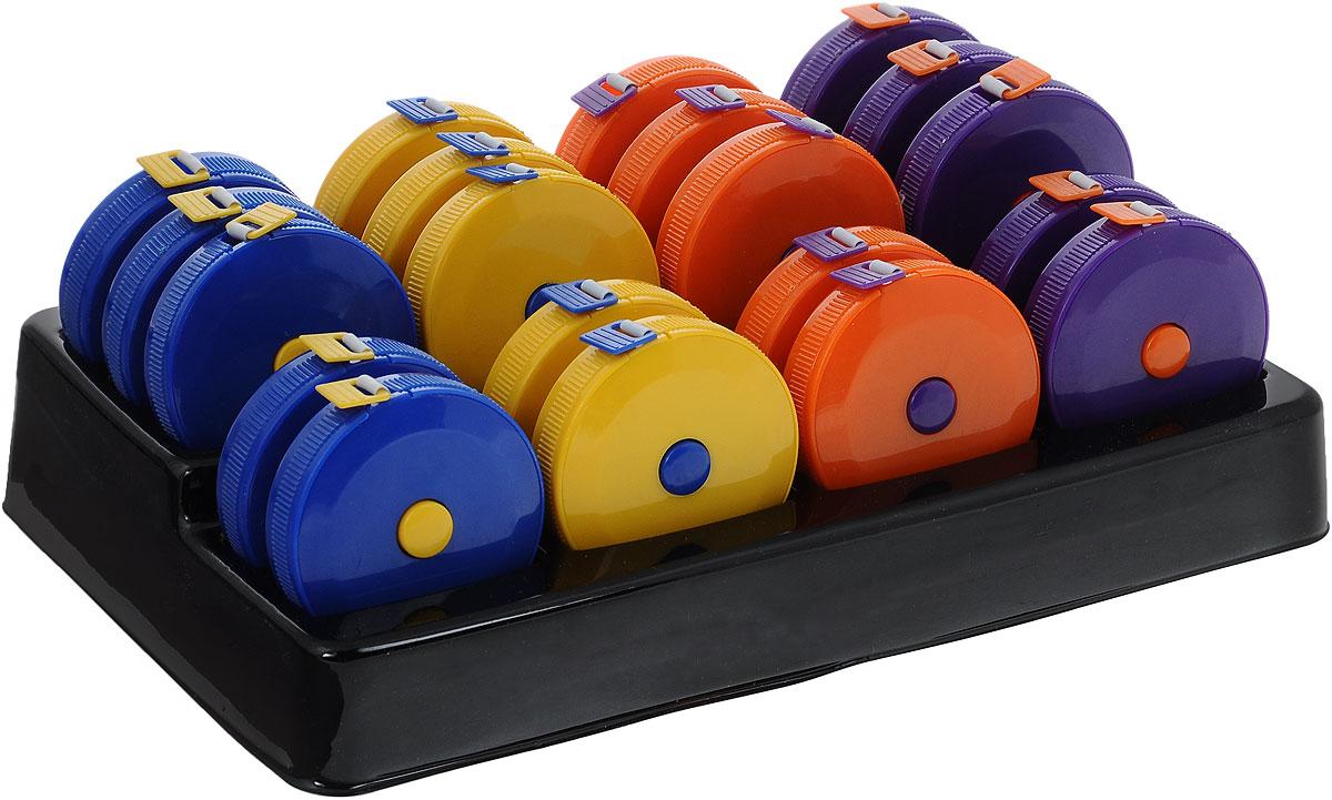 Сантиметр-рулетка Hemline Metro, 150 см, 20 шт+253.MET.DНабор Hemline состоит из 20 рулеток. Сантиметры- рулетки предназначены для снятия мерок, измерения различных изделий и материалов. Изделия выполнены из пластика и оснащены делениями в 1 см с одной стороны и в 1 дюйм с другой. Общая длина: 150 см/60. Размер корпуса: 5 х 5 х 1,2 см.