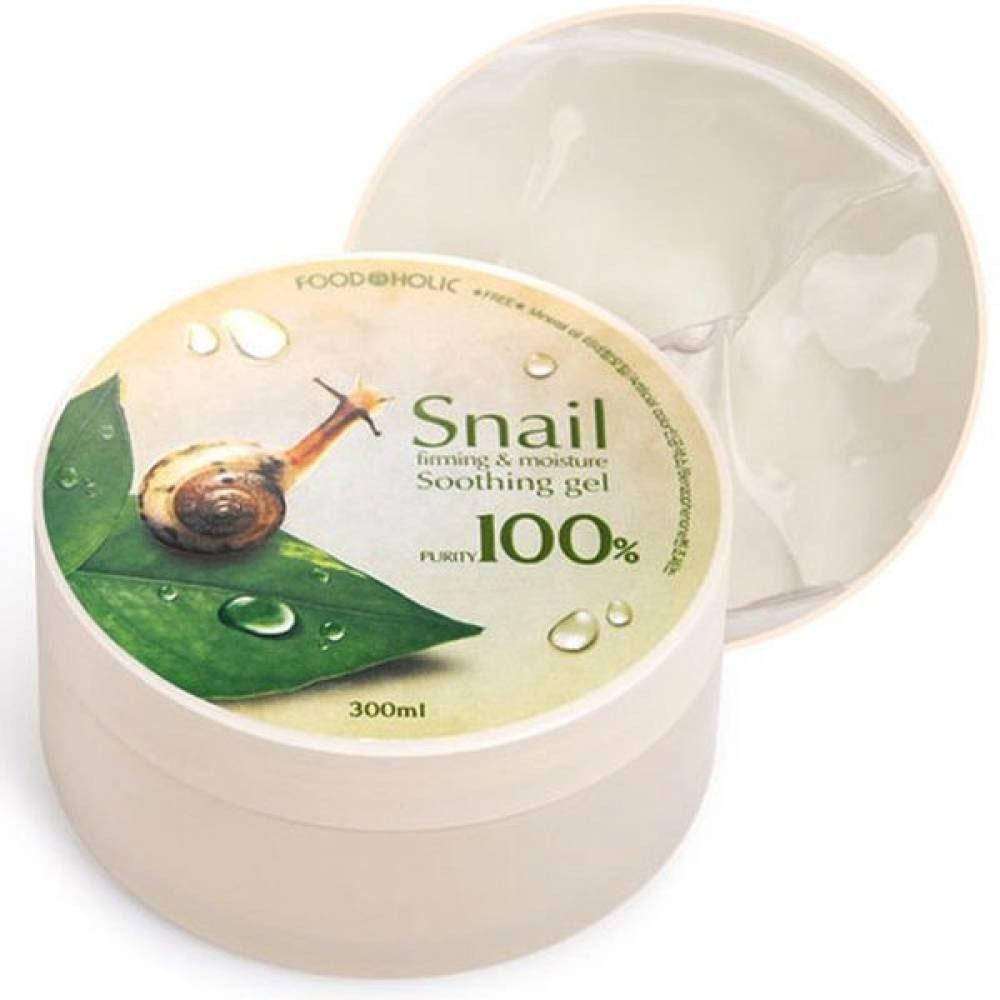 FoodaHolic Многофункциональный гель с улиточным муцином Soothing gel, 300 мл601335Великолепный универсальный гель с улиточным муцином превосходно заботится о коже, увлажняет, восстанавливает и препятствует ее старению. Меры предосторожности: избегать попадания в глаза, в случае несовместимости с вашей кожей прекратите использование.