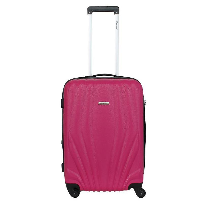 Чемодан-тележка Cavalet Orlando, 78 л, цвет: розовый. 844-60-82844-60-82Cavalet Orlando - современные и простые в использовании тележки, для людей, которые много путешествуют. Детали: четыре бесшумных колеса, телескопическая ручка, замок TSA. Вес 4,2кг. Объем 78л. Расширение 5 см. Все товары компании изготавливаются из высококачественных материалов и проходят строгий контроль качества.