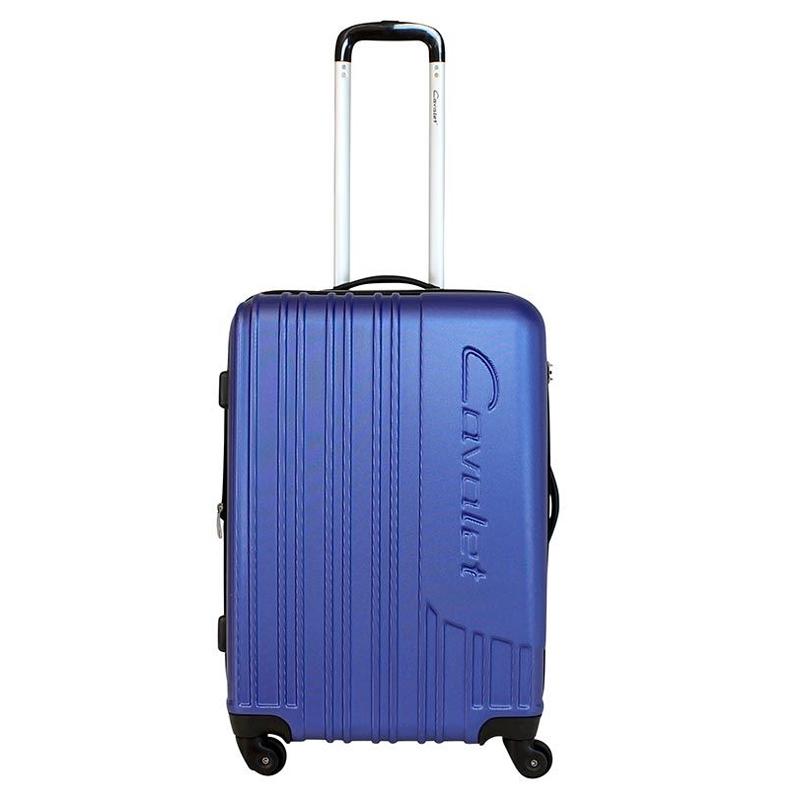Чемодан-тележка Cavalet Malibu Luggage, 75+14 л, цвет: темно-синий. 858-60-70858-60-70Чемодан-тележка Cavalet на четырех колесах идеально подходит для поездок и путешествий. Корпус имеет жесткую конструкцию и выполнен из ударопрочного пластика с возможностью увеличения объема. Чемодан имеет вместительное отделение для хранения одежды и карманы для аксессуаров. Отделение закрывается на застежку-молнию и замок. Внутри сетчатый карман на молнии и багажные ремни для фиксации. Внутренняя поверхность изделия отделана полиэстером. В верхней части чемодана предусмотрена ручка для переноски. На одной из боковых сторон - пластиковые ножки, на другой - дополнительная ручка для переноски. Чемодан оснащен удобной телескопической ручкой. Стильный и удобный чемодан-тележка Cavalet вместит все необходимые вещи и станет незаменимым аксессуаром во время поездок.