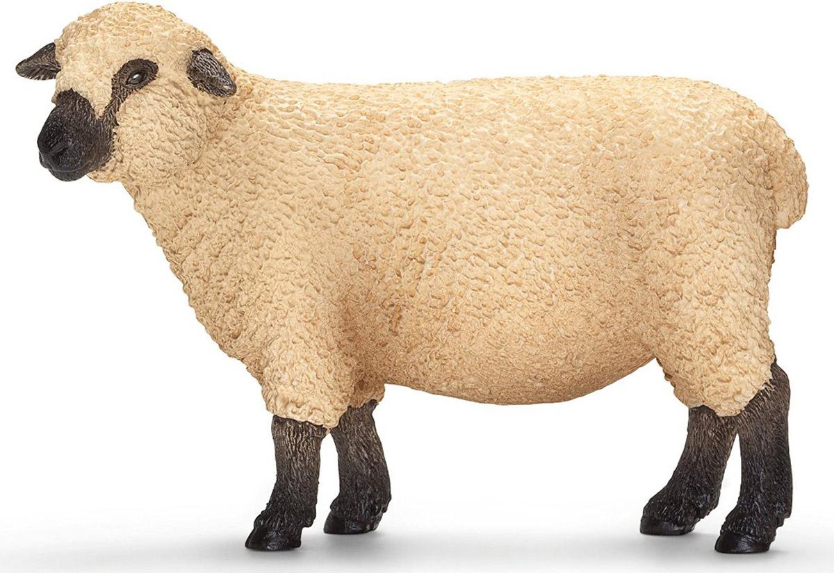 Schleich Фигурка Шропширская овца13681Шропширская овца принадлежит к старой английской породе симпатичных овец, покрытых густой светлой шерстью. Темные ушки, коричневые ноги и мордочка с высокой точностью передают отличительные черты животного, которые достигнуты за счет ручной окраски игрушки. С помощью фигурки Schleich Шропширская овца ребенок сможет дополнить свою ферму со скотным двором. Выдумывая сюжетно-ролевые игры, малыш развивает воображение и осваивает новые социальные взаимоотношения.