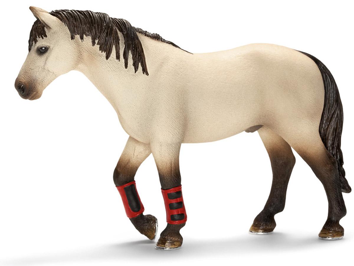 Schleich Фигурка Лошадь13706Фигурка Schleich Лошадь выполнена из высококачественных материалов с максимальной точностью и раскрашена вручную. Эта красивая лошадь обучает ребятишек верховой езде. Чтобы предотвратить чрезмерное перенапряжение животного и травмы лошадям надевают специальные сапоги на сухожилия ног. С помощью отдельных элементов ваш ребенок сможет создавать целые фермы. Прекрасно выполненные фигурки Schleich отличаются высочайшим качеством игрушек ручной работы. Все они создаются при постоянном сотрудничестве с Берлинским зоопарком, а потому являются максимально точной копией настоящих животных.