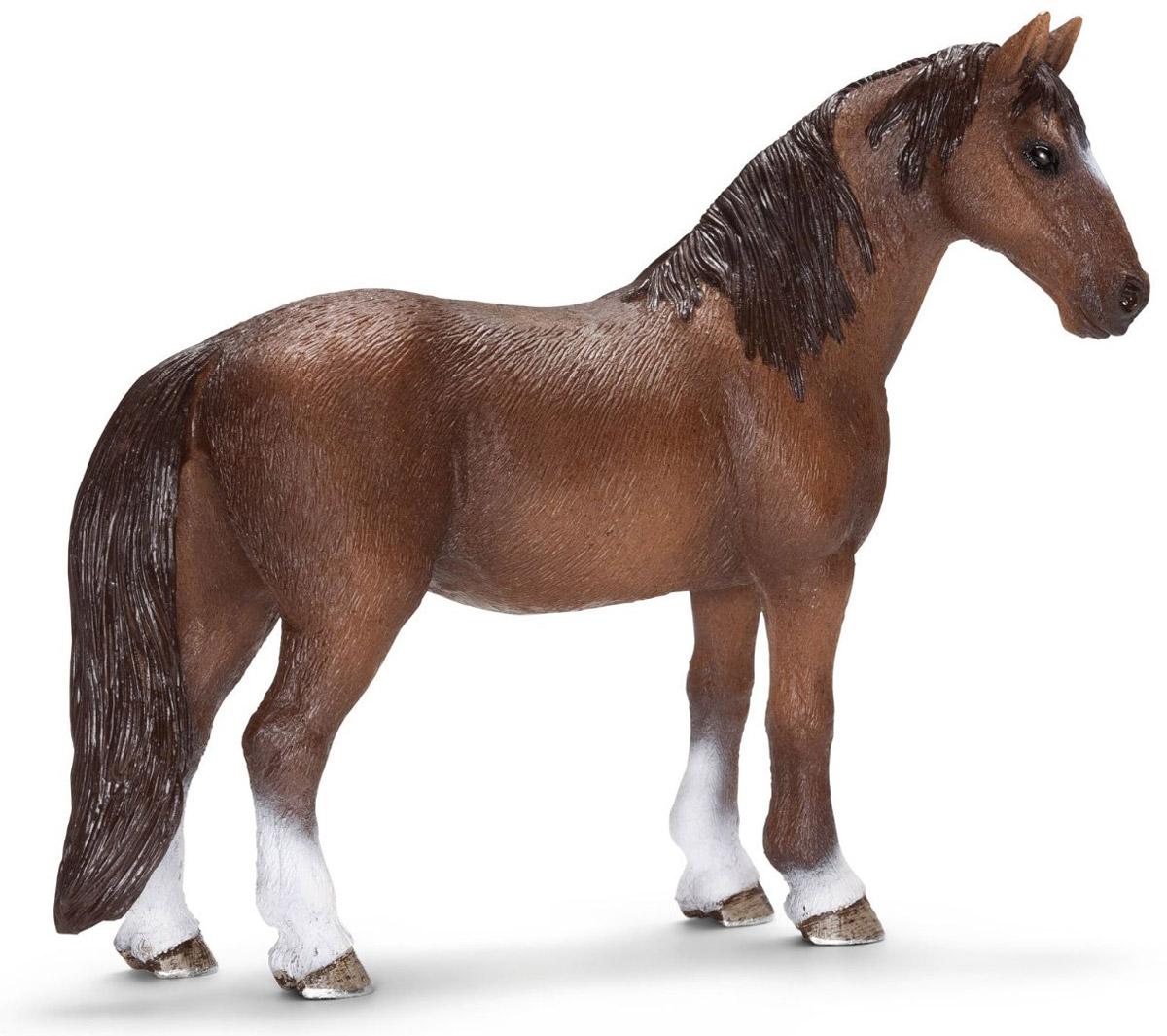 Schleich Фигурка Кобыла Теннесси уокер13713Теннессийская лошадь представляет американский штат Теннесси. Эта лошадь известна своим особым типом походки, ускоренной формой прогулки. Эта порода была разработана в США для владельцев плантаций, ее особый способ ходьбы невероятно удобен для каждого погонщика. Фигурка Schleich Кобыла Теннесси уокер, раскрашенная вручную, выполнена из безопасного материала - пластика. Компания Schleich специализируется на выпуске детских игрушек, знакомящих с окружающей средой, развивающих творческое мышление, мелкую моторику рук.