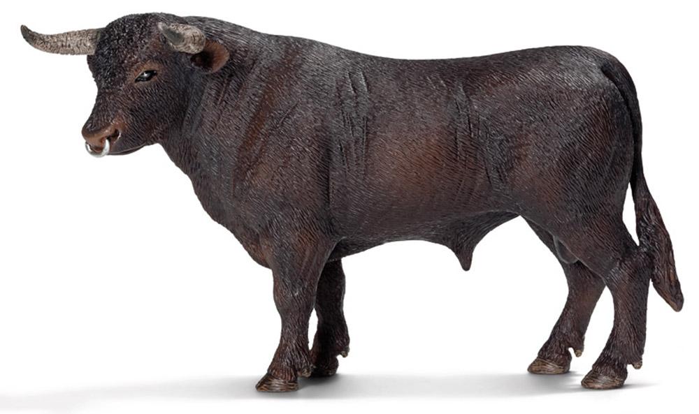 Schleich Фигурка Черный бык13722Черный бык - прославленный символ Испании и испанской корриды. Черный бык у многих народов мира является воплощением силы и благородства. Нередко именно черный бык используется в спорных поединках на боях быков. Также именно черный бык является символом одной очень известной итальянской компании, производящей спортивные автомобили. Фигурка Schleich Черный бык выполнена из каучукового пластика, раскрашивалась вручную.