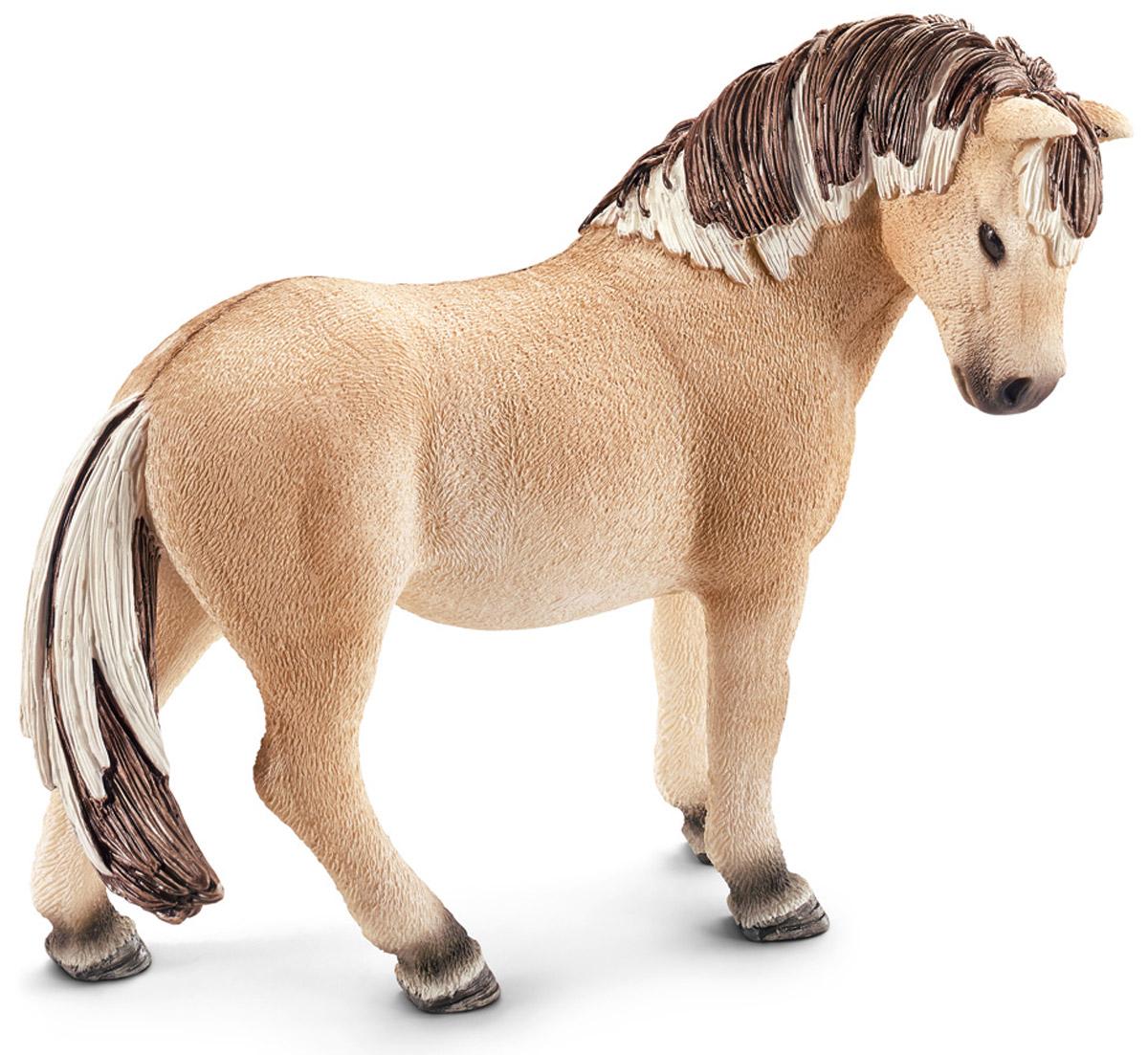 Schleich Фигурка Фьордская кобыла13754Великолепная фигурка Schleich Фьордская кобыла разнообразит игры вашего ребенка и станет прекрасным пополнением коллекции игрушек. Фьордская порода лошадей отличается небольшим размером, но при этом - это очень сильные и мощные лошади с широкой шеей и невысокими ногами. Фьордская порода лошадей очень похожа на диких лошадей Восточной Европы и Азии. Их превосходную гриву подрезают таким образом, чтобы она стояла вертикально и проходила вдоль всей спины до самого хвоста. Сейчас эти лошади используются для соревнований. Фигурка выполнена из безопасного каучукового пластика и раскрашена вручную.