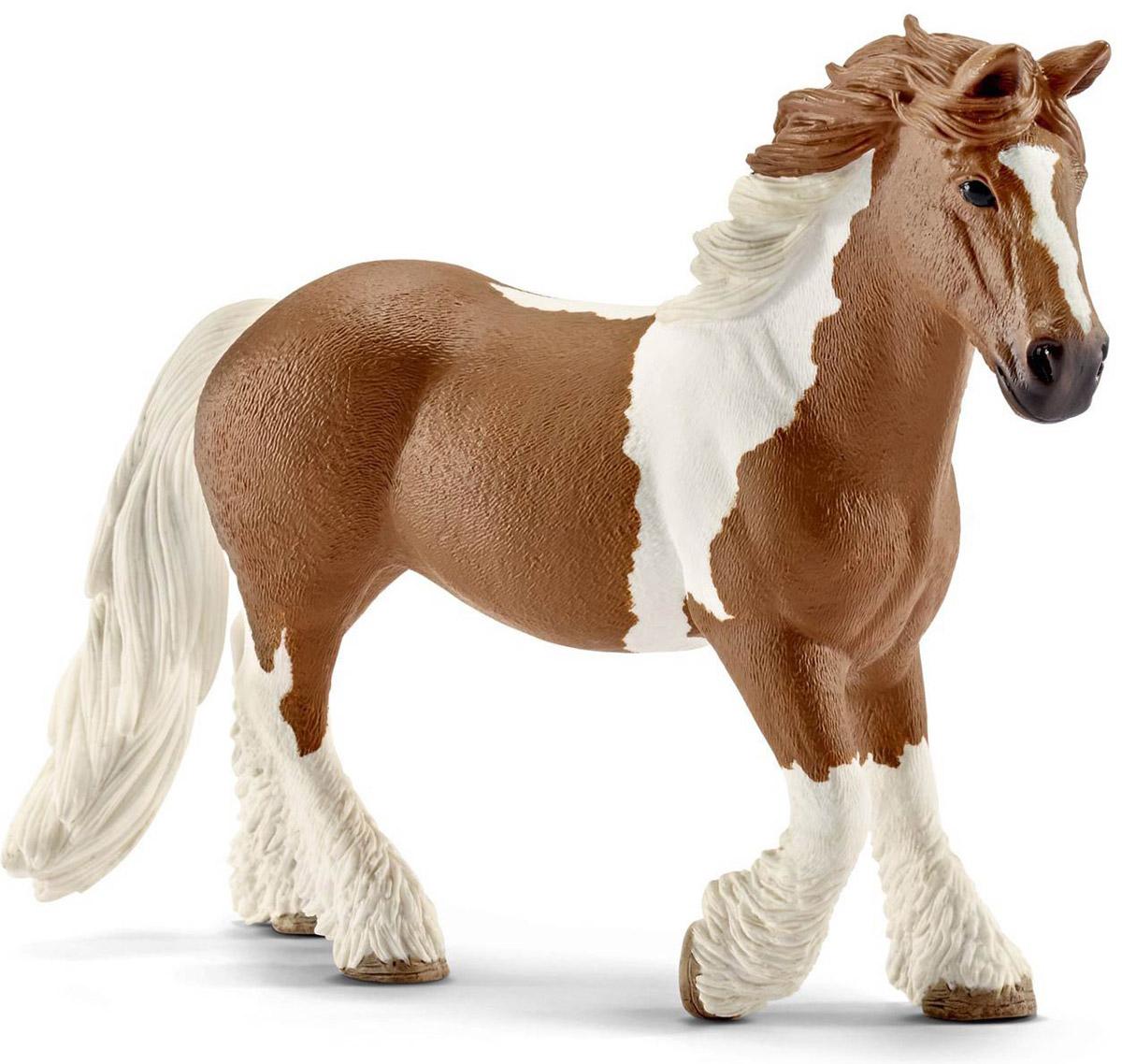 Schleich Фигурка Кобыла Тинкер13773Яркая красивая фигурка лошадки породы Тинкер обязательно понравится как детям, так и опытным коллекционерам. Фигурка выполнена в бело-коричневом цвете и очень реалистична. Эта порода лошадей была выведена в Великобритании и Ирландии. Лошади Тинкер имеют широкие устойчивые копыта, что позволяет им долго передвигаться на большие расстояния. Прекрасно выполненная фигурка Schleich Кобыла Тинкер отличается высочайшим качеством. Фигурка создавалась при сотрудничестве с Берлинским зоопарком, а потому, является максимально точной копией настоящего животного. Фигурка разработана с учетом исследований в области педагогики и производится как настоящее произведение для маленьких детских ручек.