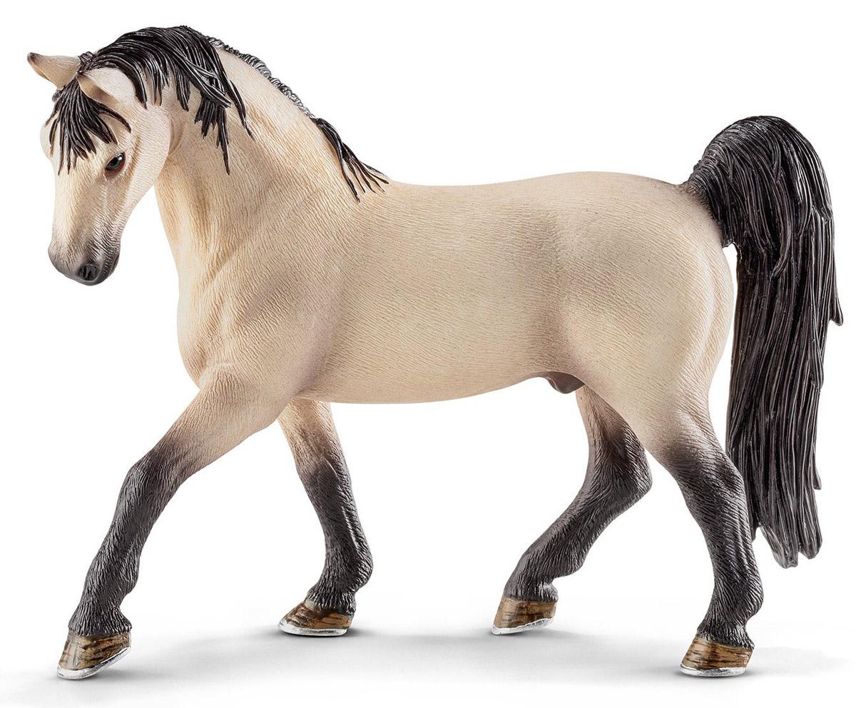 Schleich Фигурка Жеребец Теннесси уокер13789Фигурка Schleich Жеребец. Теннесси уокер - красивая и реалистичная игрушка для детей. Лошадь представляет американский штат Теннесси. Эта лошадь известна своим особым типом походки, ускоренной формой прогулки. Эта порода была выведена в США для владельцев плантаций, ее особый способ ходьбы невероятно удобен для каждого ездока. Фигурка выполнена из каучукового пластика, раскрашивалась вручную. С помощью фигурки ребенок сможет дополнить свою ферму со скотным двором. Выдумывая сюжетно-ролевые игры, малыш развивает воображение и осваивает новые социальные взаимоотношения.