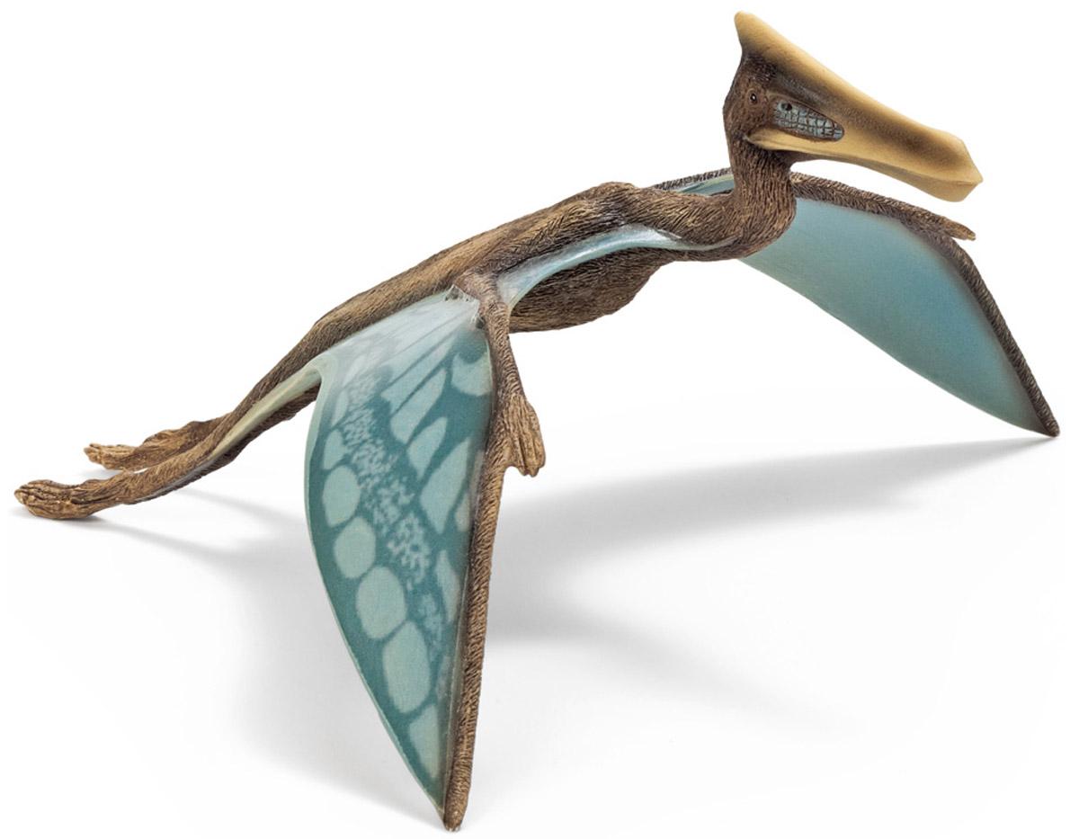 Schleich Фигурка Кетцалькоатль14518Кетцалькоатлы жили в доисторический период. По массе кетцалькоатлы немного уступали орнитохейрам, на которых они были во многом похожи. У них достаточно тонкие задние конечности, что свидетельствует о том, что они большее количество времени проводили в воздухе, высматривая очередную добычу. У кетцалькоатлов длинные крылья, клюв и изогнутая шея. Размах их крыльев достигал 15 метров, питались они маленькими динозаврами и падалью. Фигурка Schleich Кетцалькоатль является отличным обучающим материалом и знакомит детей с представителями животного мира.