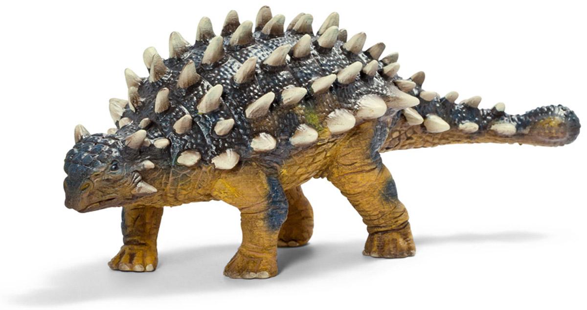 Schleich Фигурка Саишания14519Саишания - достойный представитель доисторических животных. Внешне этот динозавр кажется небольшим. Но его защитные приспособления вызывают восхищения. На голове, туловище и хвосте саишании выступают достаточно острые шипы белого цвета. К тому же, на хвосте саишания имеет некоторое подобие булавы, удары которой сразят наповал любого врага. Фигурка Schleich Саишания изготовлена из гипоаллергенных высокотехнологичных материалов, раскрашена вручную и не вызывает аллергии у ребенка.