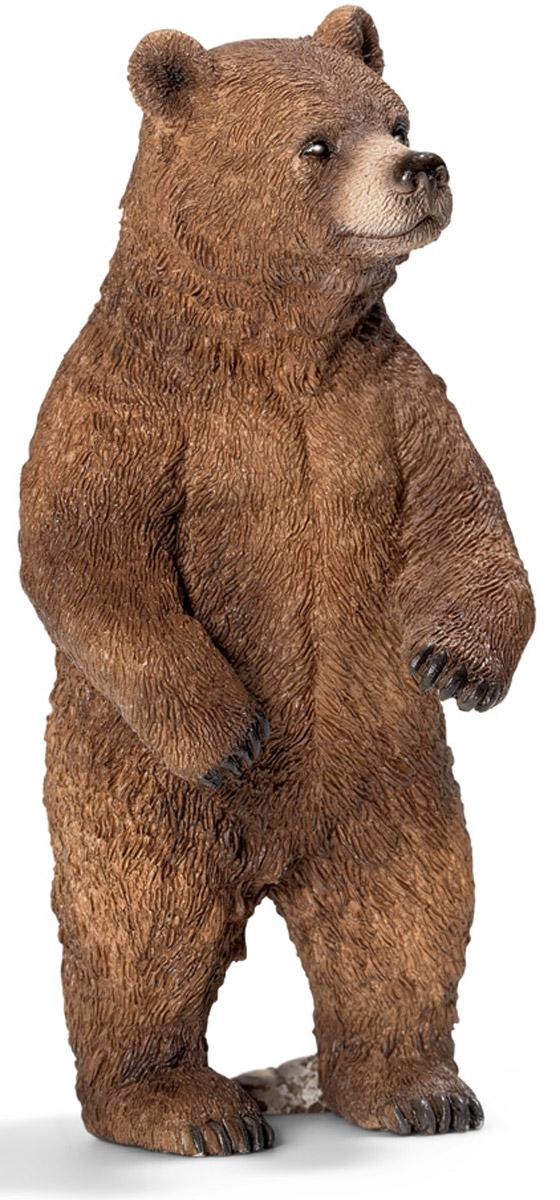 Schleich Фигурка Медведица гризли14686Гризли самка отличается от самца меньшими размерами, более светлым окрасом шерсти. Но, несмотря на это, представляет не меньшую опасность, чем самец. Самка может лазать по деревьям только в детском возрасте, пока не вырастут когти. Фигурка Schleich Медведица гризли прекрасно разнообразит игру вашего ребенка и станет отличным пополнением коллекции его фигурок. Все фигурки Schleich изготовлены из гипоаллергенных высокотехнологичных материалов, раскрашены вручную и не вызывают аллергии у ребенка. Прекрасно выполненные фигурки отличаются высочайшим качеством игрушек ручной работы. Все они создаются при постоянном сотрудничестве с Берлинским зоопарком, а потому являются максимально точной копией настоящих животных. Каждая фигурка разработана с учетом исследований в области педагогики и производится как настоящее произведение для маленьких детских ручек.