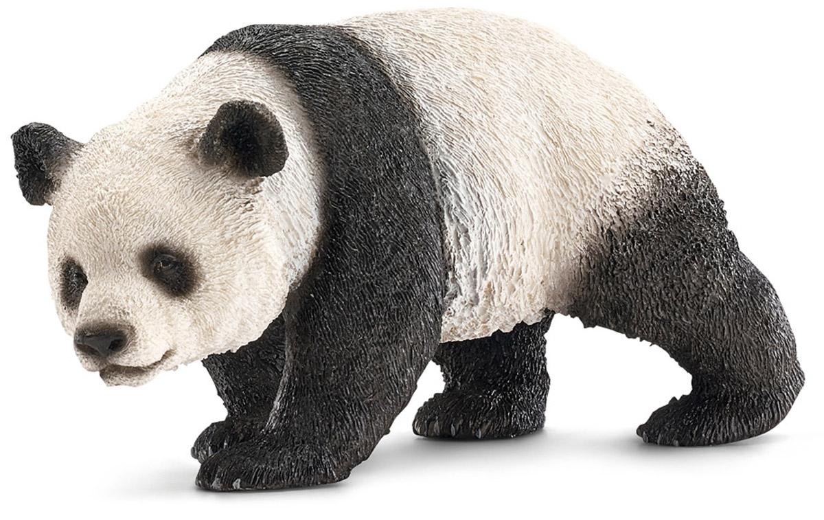 Schleich Фигурка Панда 1470614706Фигурка Schleich Панда обязательно понравится всем любителям этих очаровательных животных и разнообразит сюжетно-ролевые игры вашего ребенка. Более 14 часов в сутки панды тратят на то, чтобы собрать свое любимейшее лакомство - бамбук. Размер панды составляет до 1,5 метров в длину, продолжительность их жизни - около 20 лет. Сейчас эти великолепные животные находятся на грани исчезновения, и ученые всего мира призывают к их сохранности, чего можно достичь разведением панд в зоопарках. Все фигурки Schleich изготовлены из гипоаллергенных высокотехнологичных материалов, раскрашены вручную и не вызывают аллергии у ребенка.