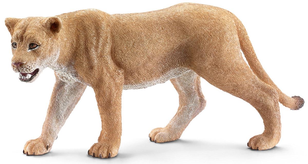 Schleich Фигурка Львица14712Львы обычно обитают небольшими группами в африканской саванне и охотятся вместе. Для того, чтобы экономить силы на охоту и защищать свою территорию, львы могут спать по 20 часов в сутки. Рев льва очень громкий и может распространяться до 8 километров. Таким образом, они могут общаться друг с другом и предупреждать об опасности. Молодые львы и львицы имеют светло- коричневую короткую шкуру, у взрослых львов - широкие темно-коричневые. Фигурка Schleich Львица выполнена из гипоаллергенных высокотехнологичных материалов, раскрашена вручную и не вызывает аллергии у ребенка. Прекрасно выполненные фигурки Schleich отличаются высочайшим качеством игрушек ручной работы. Все они создаются при постоянном сотрудничестве с Берлинским зоопарком, а потому являются максимально точной копией настоящих животных. Каждая фигурка разработана с учетом исследований в области педагогики и производится как настоящее произведение для маленьких детских ручек.