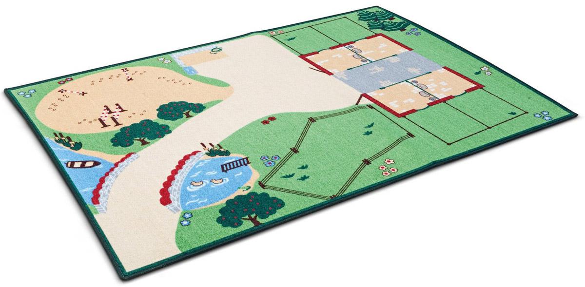 Schleich Ковер-ландшафт для игры Жизнь на ферме42138Ковер-ландшафт для игры Schleich Жизнь на ферме является идеальным местом для игры с игрушками Schleich. Дорога к конюшне идет через небольшой мост. На пышном зеленом пастбище могут пастись ваши любимые лошади. Вы также легко можете изменить окружающую среду, используя все имеющиеся аксессуары Schleich. В процессе игры у ребенка развивается мелкая моторика, стимулируется развитие речи, логическое мышление, ребенок знакомится с окружающим миром. Все фигурки и строения продаются отдельно.