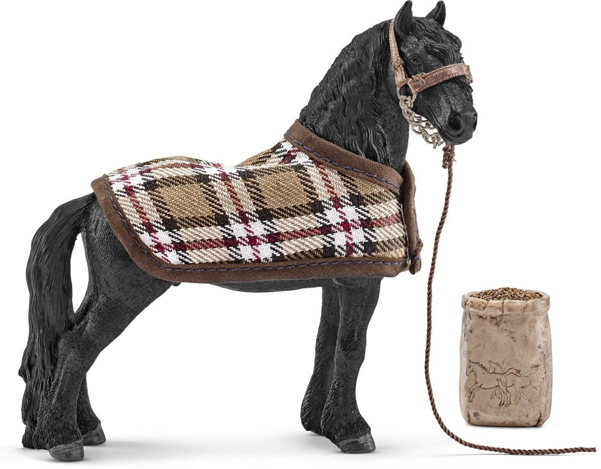 Schleich Игровой набор Кормление и уход за фризской лошадью42269Восхитительный игровой набор кормление и уход за фризской лошадью Schleich приведет в восторг всех любителей игрушечных лошадей и наездниц. Набор позволит ребенку устроить увлекательные сюжетные игры со своими любимыми лошадками и наездницами. Элементы набора выполнены из прочных качественных материалов, безопасных для детей. Фризские лошади обожают, когда за ними ухаживают перед тем, как вывести на прогулку. Когда на улице холодно, вы можете укрыть любимого питомца теплой накидкой. Тогда вашей лошади будет тепло, и для нее не будет риска заболеть.