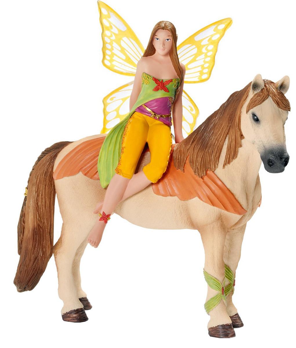 Schleich Фигурка Эльфийка Саньила на лошади70467Фигурка Schleich Эльфийка Саньила входит в удивительно яркую и красивую серию Эльфы. Сказочные персонажи увлекут надолго ребенка в удивительный мир волшебства и помогут познакомиться ближе с окружающим миром, развить творческое мышление, мелкую моторику ручек.