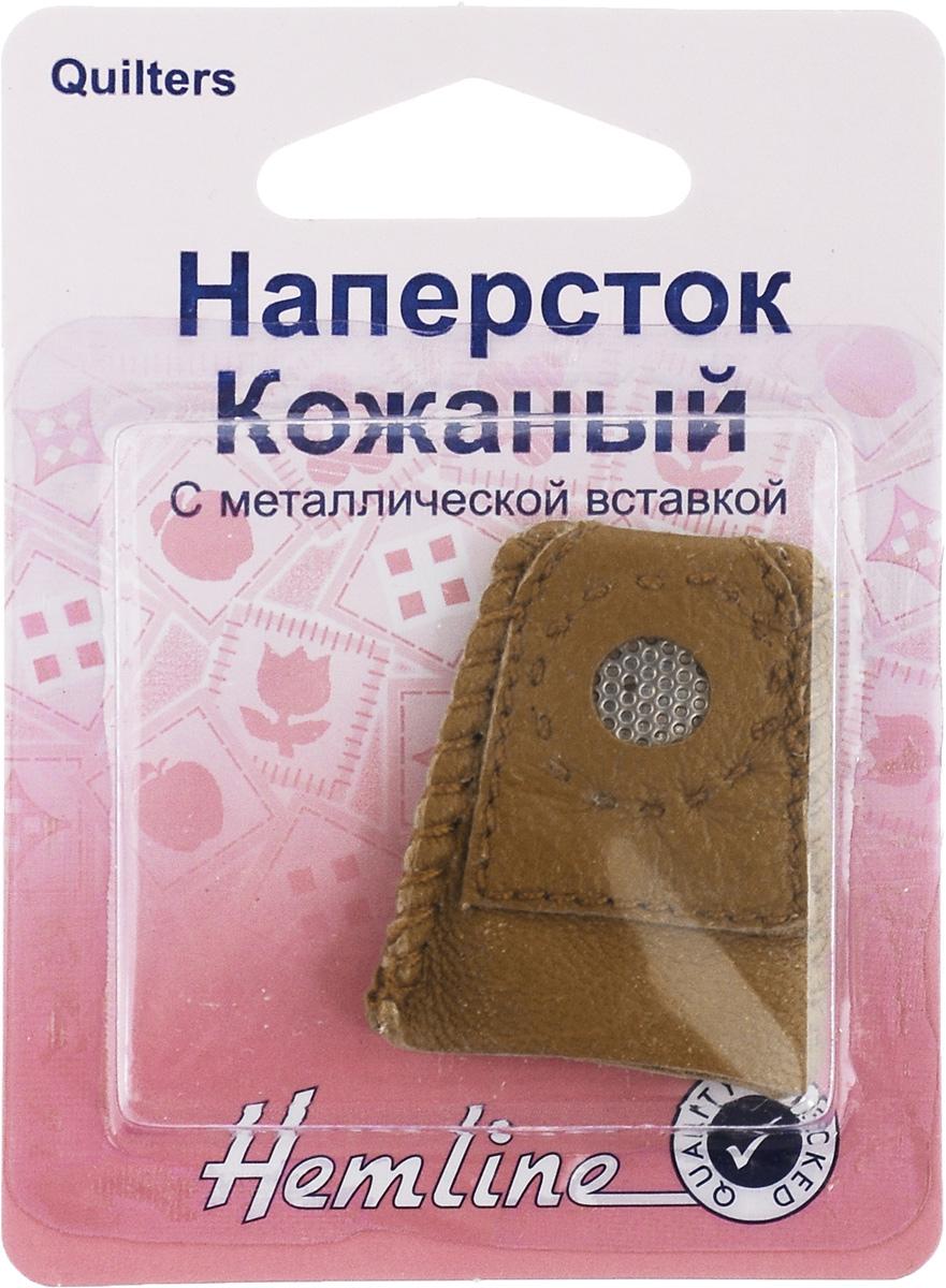 Наперсток кожаный Hemline, с металлической вставкой225.MНаперсток Hemline выполнен из мягкой кожи, поэтому удобно располагается на пальце. Оснащен вшитой перфорированной металлической пластинкой для защиты пальцев. Он защитит ваши пальцы от укола иголкой при шитье и поможет протолкнуть иглу сквозь толстый материал. Кожаные наперстки не повреждают нить. Такой защитный колпачок предотвращает скольжение и проворачивания. Долговечен и удобен в применении.