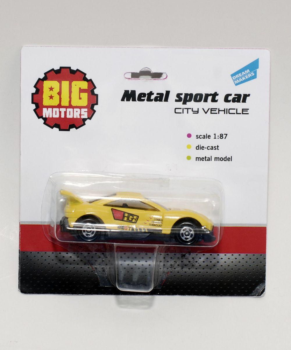 Big Motors Машинка металлическая длина 7 см ( JP632 )
