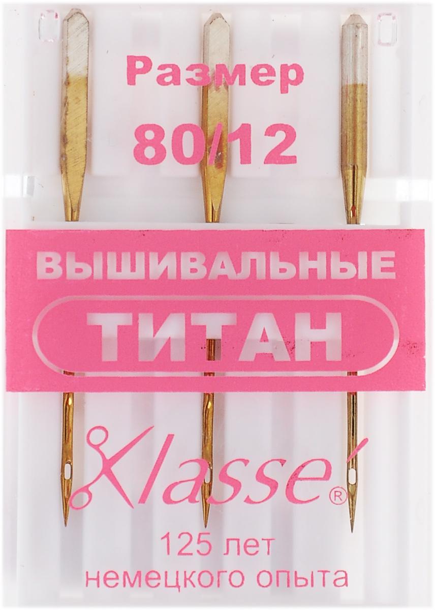 Иглы для бытовых швейных машин Hemline, вышивальные, титановые, №80, 3 штA6180.80TИглы Hemline, выполненные из титана, идеально подходят для тканей с двухсторонним стрейчем (эластичные ткани, лайкра), особенно для тех, которые содержат лайкровую резинку, используемую в купальных костюмах и нижнем белье. Специально вытянутая игла предотвращает пропуск стежков. В комплекте пластиковый футляр для переноски и хранения. Размер: 80/12. Длина игл: 3,8 см.