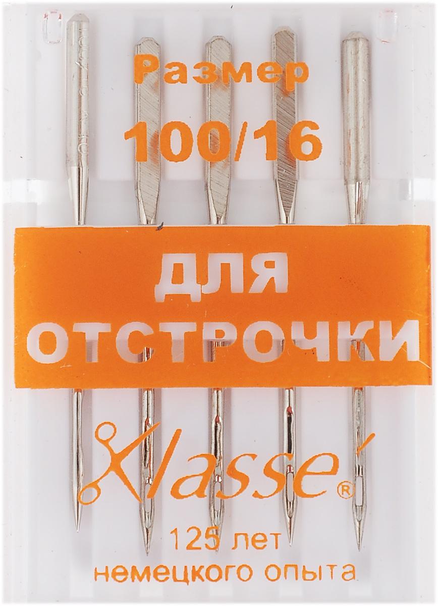 Иглы для бытовых швейных машин Hemline, для отстрочки, с увеличенным ушком, №100, 5 штA6147/100Игла Hemline применяется для выполнения качественной отстрочки толстыми и декоративными нитями: армированными, шерстяными или нитями в два и более сложения. Имеет удлиненное ушко и тонкое, остро заточенное острие. Легко прокалывает несколько слоев материала, предотвращая пропуск стежков, что особенно важно для качественно сшитого изделия. Размер: №100/16. Количество: 5 шт.