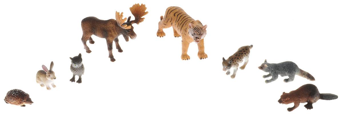 Wenno Набор фигурок Животные Евразии 8 штWSR06001Набор фигурок Wenno Животные Евразии познакомит вашего ребенка с окружающим миром. В набор входят восемь фигурок - тигр, еж, сова, заяц и другие, которые имеют высокую степень сходства с настоящими животными. Фигурки выполнены с максимальной детализацией, чтобы дать ребенку представление о том, как выглядят животные в природе. Набор фигурок Wenno Животные Евразии - отличная возможность посетить зоопарк, не выходя из дома. Фигурки изготовлены из качественного материала, не токсичны и не вызывают аллергию. В набор входят карточки. Вам необходимо скачать сканер QR кодов, выбрать язык (по умолчанию - английский). Просканируйте QR код на каждой карточке, приложение покажет информацию о разных животных.