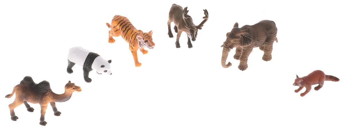 Wenno Набор фигурок Животные Азии 6 штWAS06001Набор фигурок Wenno Животные Азии познакомит вашего ребенка с окружающим миром. В набор входят шесть фигурок - тигр, слон, панда, верблюд и другие, которые имеют высокую степень сходства с настоящими животными. Фигурки выполнены с максимальной детализацией, чтобы дать ребенку представление о том, как выглядят животные в природе. Набор фигурок Wenno Животные Азии - отличная возможность посетить зоопарк, не выходя из дома. Фигурки изготовлены из качественного материала, не токсичны и не вызывают аллергию. В набор входят карточки. Вам необходимо скачать сканер QR кодов, выбрать язык (по умолчанию - английский). Просканируйте QR код на каждой карточке, приложение покажет информацию о разных животных.