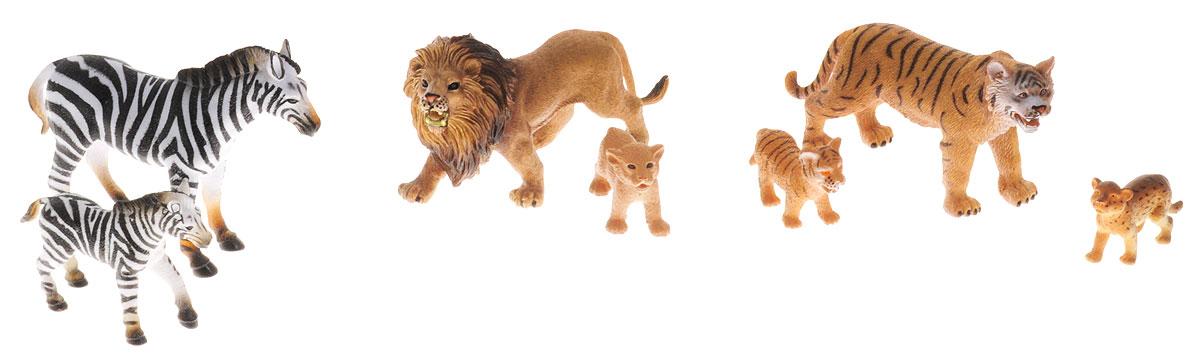 Wenno Набор фигурок Дикие животные 7 штWEW06002Набор фигурок Wenno Дикие животные познакомит вашего ребенка с окружающим миром дикой природы. В набор входят семь фигурок - лев, зебры и другие, которые имеют высокую степень сходства с настоящими животными. Фигурки выполнены с максимальной детализацией, чтобы дать ребенку представление о том, как выглядят животные в природе. Набор фигурок Wenno Дикие животные - отличная возможность посетить зоопарк, не выходя из дома. Фигурки изготовлены из качественного материала, не токсичны и не вызывают аллергию. В набор входят карточки. Вам необходимо скачать сканер QR кодов, выбрать язык (по умолчанию - английский). Просканируйте QR код на каждой карточке, приложение покажет информацию о разных животных.