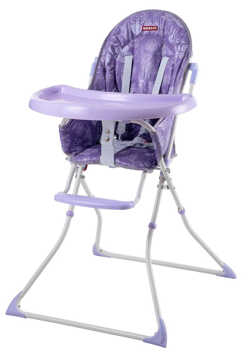Happy Baby Стульчик для кормления НB-8003 Violet4650069783695Высота не регулируется, пятиточечные ремни, Легкая сборка, вес и компактность Легко складывается Рекомендуемый возраст: от 6 месяцев до 3 лет Максимальный вес ребенка 18 кг Габаритные размеры в разложенном виде (ДхШхВ): 72x61x102 см Размеры в сложенном виде (ДхШхВ): 18х61х120 см Высота от пола до сиденья: 54 см Глубина сиденья: 29 см Ширина сиденья: 29 см Длина сиденья (самое откинутое положение от верха спинки до конца сиденья): 75 см Вес стульчика: 5,8 кг