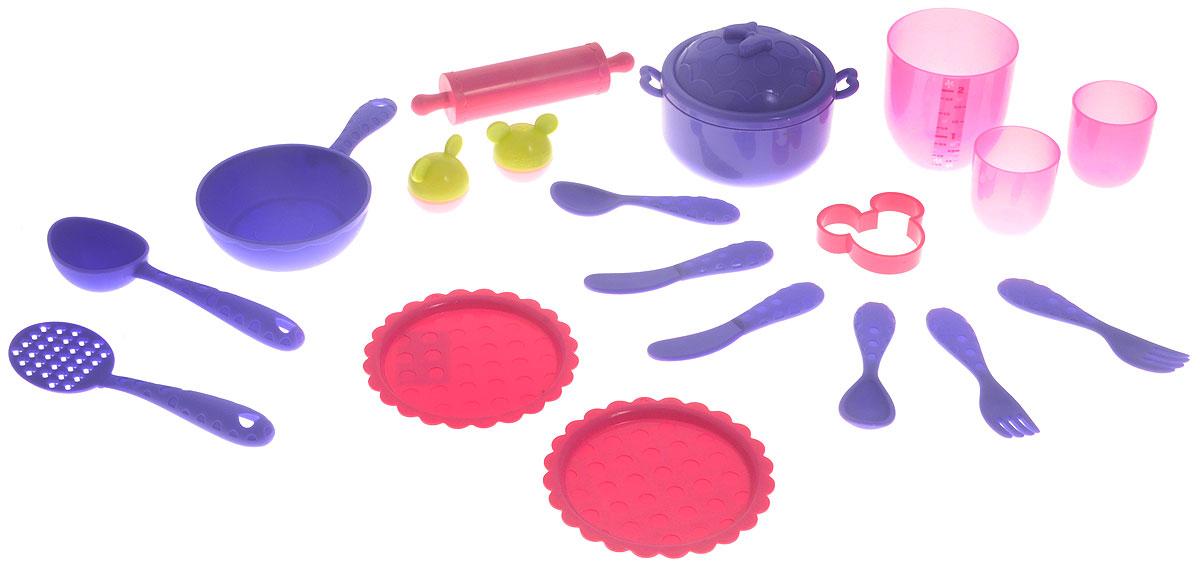 Кухня 181403 Minnie с аксессуарами, в коробке ТМ Disney181403Кухонный гарнитур Минни станет замечательным подарком для вашей маленькой помощницы. В комплекте есть все, что необходимо для приготовления наиболее вкусных блюд и сервировки стола. Готовьте вместе с Минни!