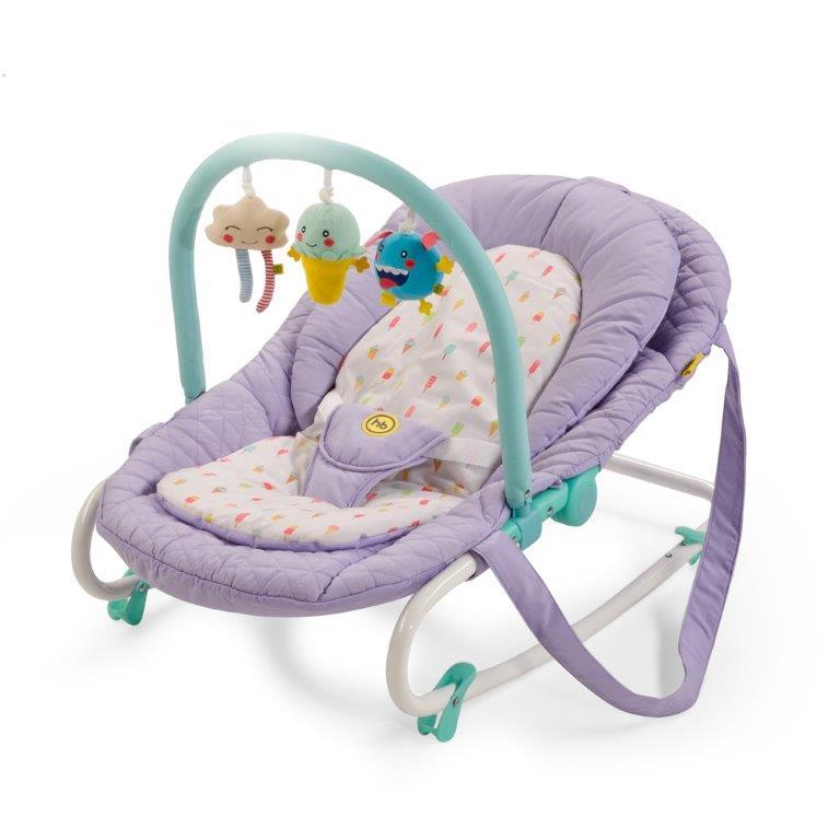 Happy Baby Шезлонг Nesty Violet