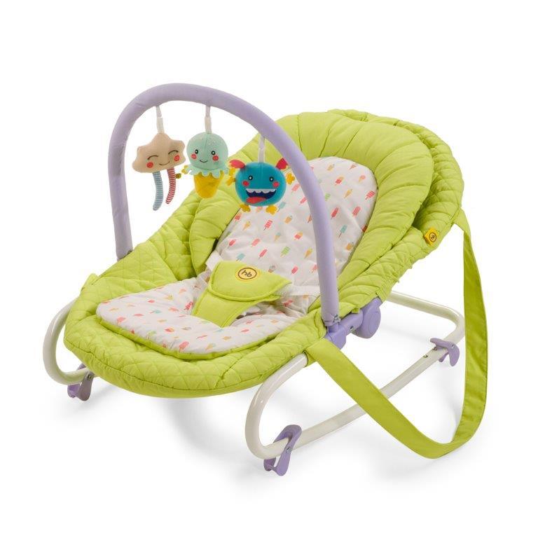 Happy Baby Шезлонг Nesty Green