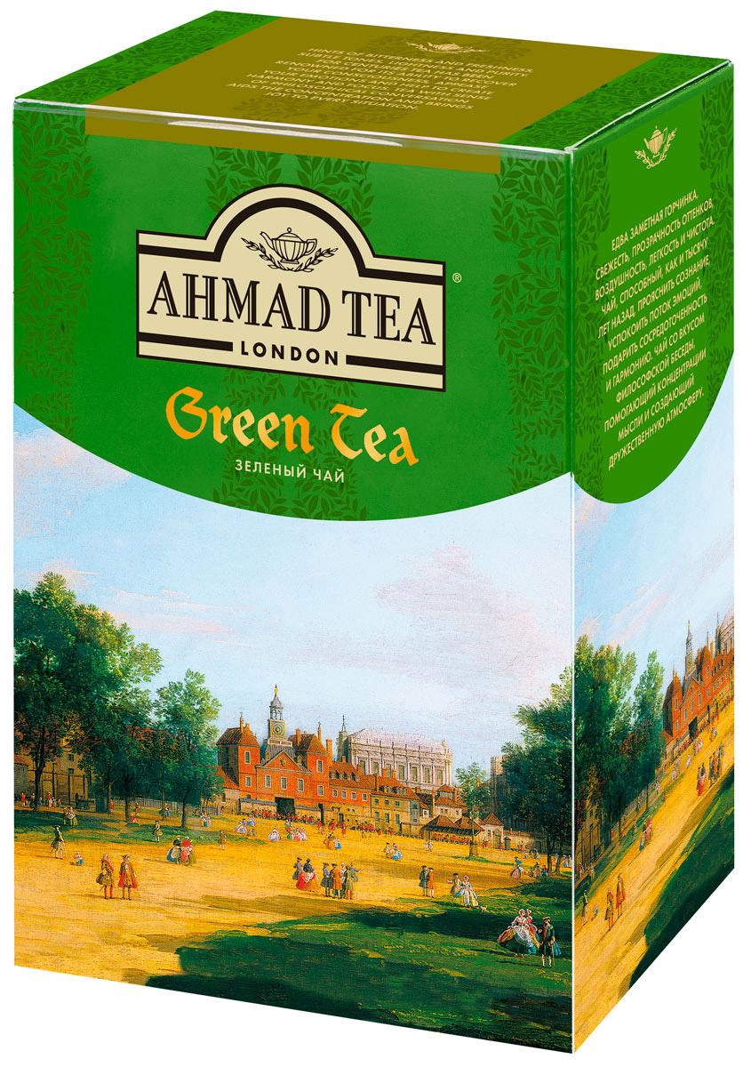 Ahmad Tea зеленый чай, 200 г1310Едва заметная горчинка, свежесть, прозрачность оттенков, воздушность, легкость и чистота. Ahmad Tea - зеленый чай, способный, как и тысячу лет назад, прояснить сознание, успокоить поток эмоций, подарить сосредоточенность и гармонию. Чай со вкусом философской беседы, помогающий концентрации мысли и создающий дружественную атмосферу. Купаж плантационного китайского зеленого чая при заваривании дает настой нежного фисташкового цвета с освежающим сладким вкусом и тонкой горчинкой, свойственной сорту китайского чая Чан Ми. Обладает деликатным ароматом и вкусом. Заваривать 4-6 минут, температура воды 90°С.